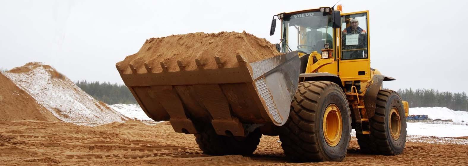 Песок мытый, сеяный, 2-ого класса